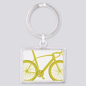 BARB_yellow Landscape Keychain