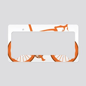 BARB_orange License Plate Holder
