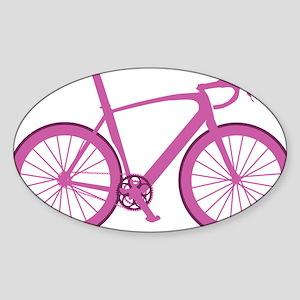 BARB_pink Sticker (Oval)