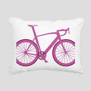 BARB_pink Rectangular Canvas Pillow