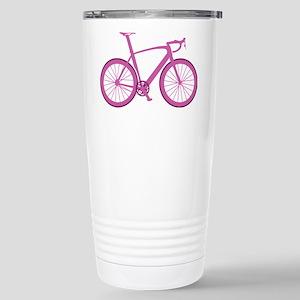 BARB_pink Stainless Steel Travel Mug