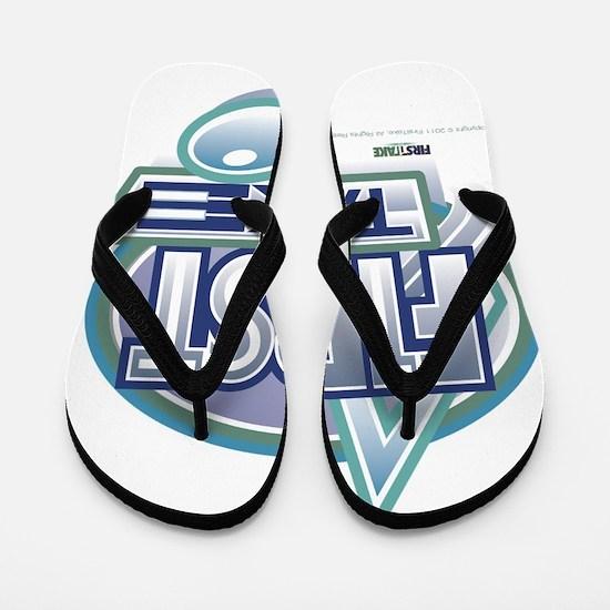 first_take_alt_logo_dark01 Flip Flops