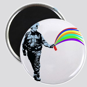 PSC_rainbow_black Magnet