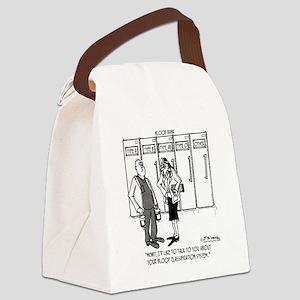 2058_blood_cartoon_SC Canvas Lunch Bag