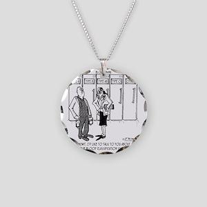 2058_blood_cartoon_SC Necklace Circle Charm