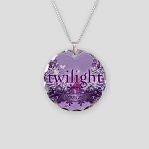 twilight breaking dawn large Necklace Circle Charm
