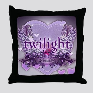 twilight breaking dawn large poster p Throw Pillow