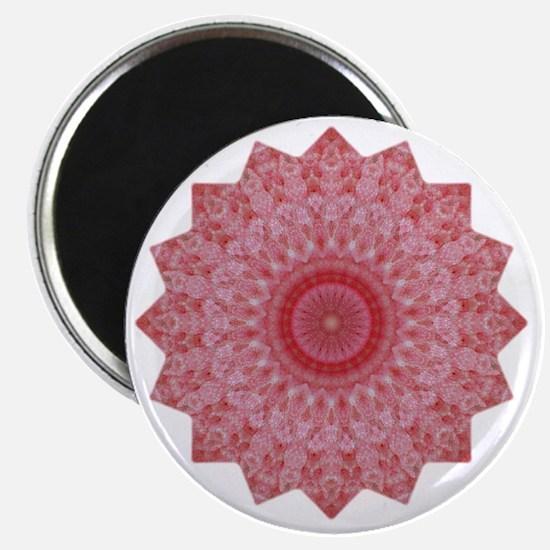 Pink Flower Mandala Shirt Magnet