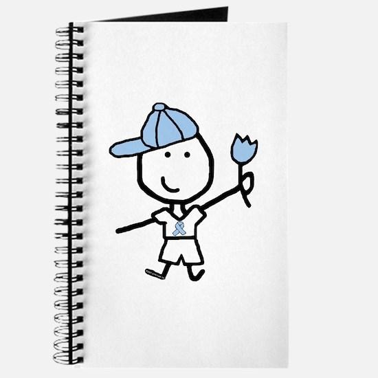 Boy & Lt Blue Ribbon Journal