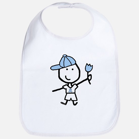 Boy & Lt Blue Ribbon Bib