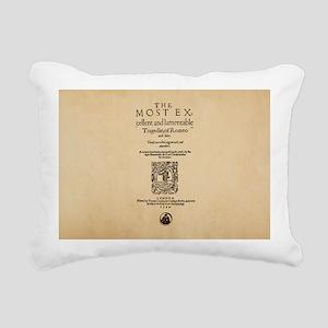 romeoandjuliet-bag Rectangular Canvas Pillow