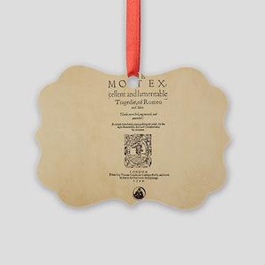romeoandjuliet-bag Picture Ornament