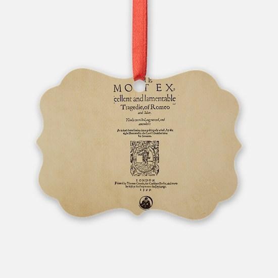 romeoandjuliet-bag Ornament