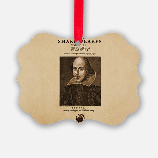 First_Folio-bag Ornament