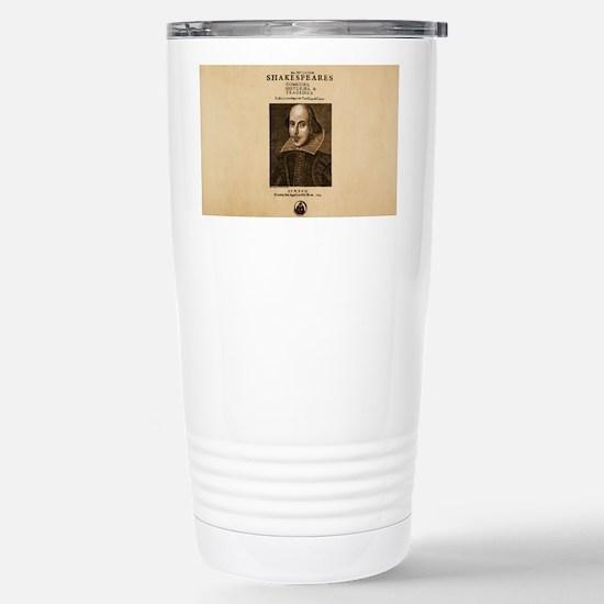 First_Folio-bag Stainless Steel Travel Mug