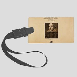 First_Folio-bag Large Luggage Tag