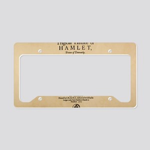 hamlet-1605-bag License Plate Holder
