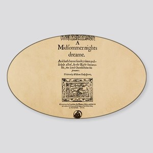 Midsummer_bag Sticker (Oval)