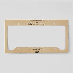 Midsummer_bag License Plate Holder