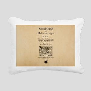 Midsummer_bag Rectangular Canvas Pillow