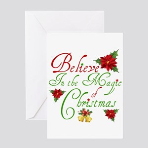 Believe In The Magic Greeting Cards