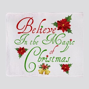 Believe In The Magic Throw Blanket