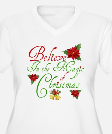 Believe In The Magic Plus Size T-Shirt