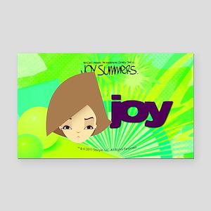 joy_sticker Rectangle Car Magnet