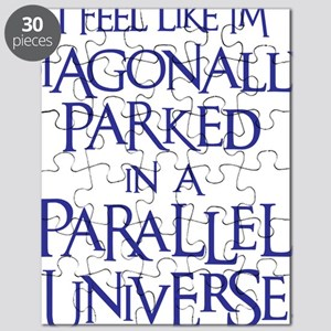 blue, Diagonally Parked Puzzle