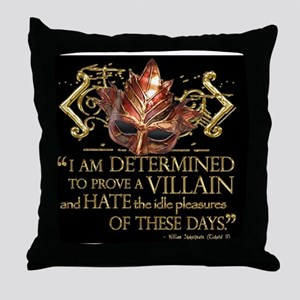 richardiii-2 Throw Pillow