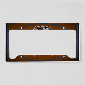 oval_sticker White Buffalo Sh License Plate Holder