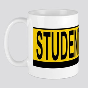 Student Drv 527_H_F bus yellow Mug