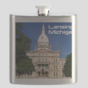 Lansing MI Cover Flask