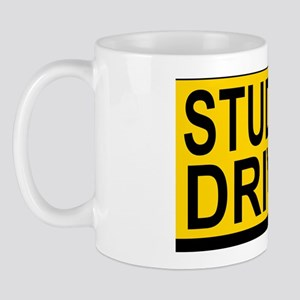 Student Drv 528_H_F bus yellow Mug