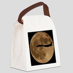 (2) B-1B Moon Flight Canvas Lunch Bag