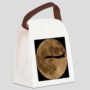 (10) B-1B Moon Flight Canvas Lunch Bag
