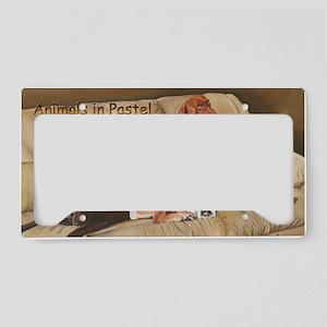 Animals Calendar Cover License Plate Holder