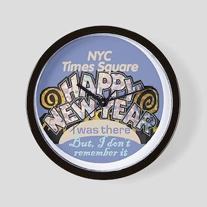 NewYears NYC Wall Clock