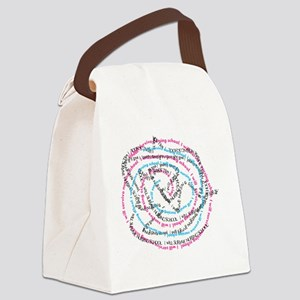 I will survive nursing school jum Canvas Lunch Bag