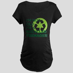 RECYCLEDTEEN copy Maternity Dark T-Shirt