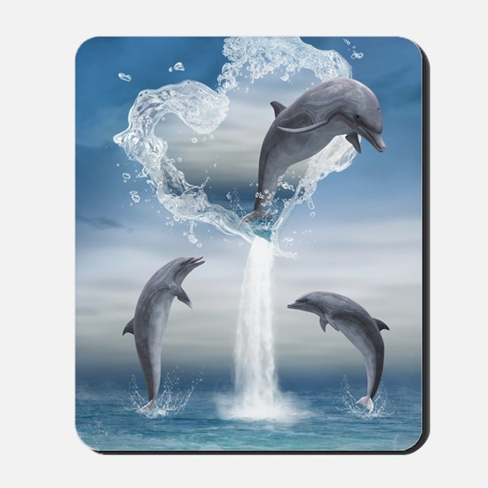 dolphins_5x8_journal Mousepad