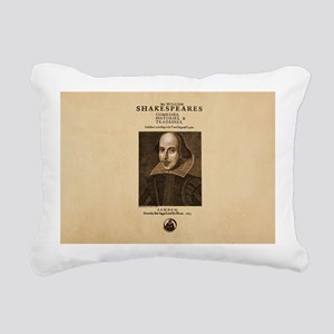 first-folio Rectangular Canvas Pillow