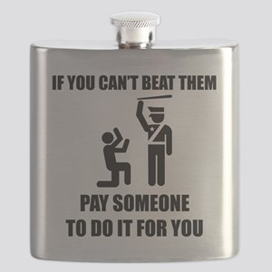 if you cant beat them.black Flask