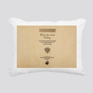 Quarto-Much-Ado-About-No Rectangular Canvas Pillow