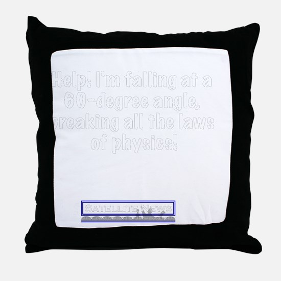 60degree Throw Pillow