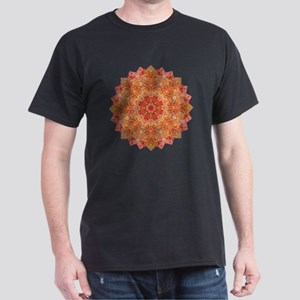 Earth Mandala Yoga Shirt Dark T-Shirt