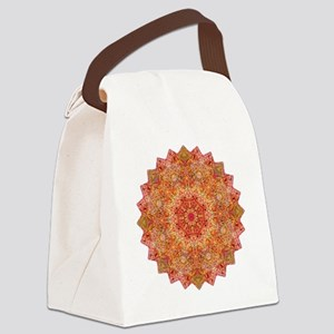 Earth Mandala Yoga Shirt Canvas Lunch Bag
