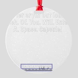 capsule Round Ornament