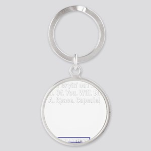 capsule Round Keychain