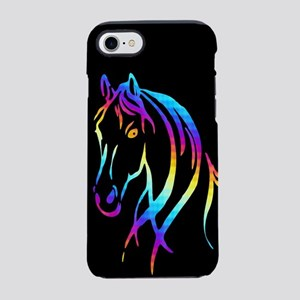 Colorful Horse iPhone 7 Tough Case